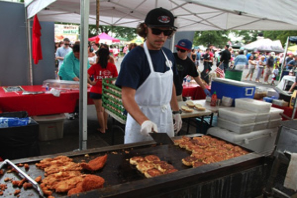 Catch Something Fresh At Monmouth Park's Surf And Turf Seafood Festival