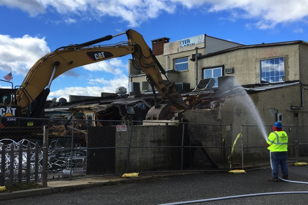 PHOTOS: Mad Hatter Demolished
