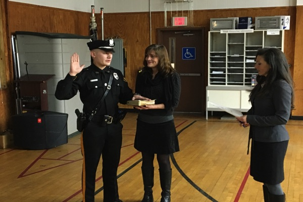 Sea Bright Police Department Promotes 3, Adds New Officer