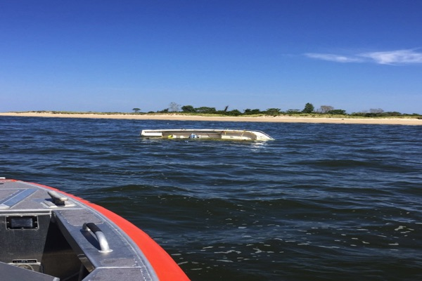 Coast Guard, Good Samaritan Rescue 6 From Capsized Boat