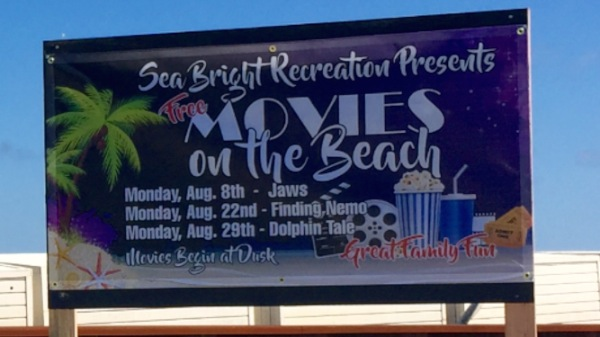 Movies On The Beach Return To Sea Bright