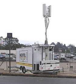 Verizon Installing Temporary Cell Tower In Sea Bright