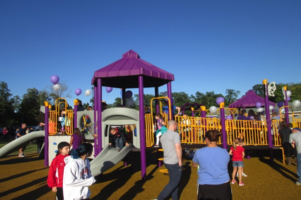New Playground Built In Memory Of Tinton Falls Girl