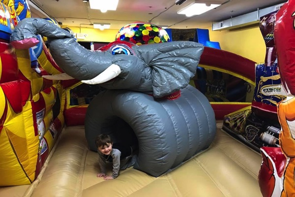 Kids Can Have A Bouncing Good Time At R'Bounce Jr In WLB
