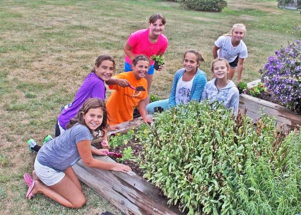 WLB Girl Scouts Visit Butterfly Garden