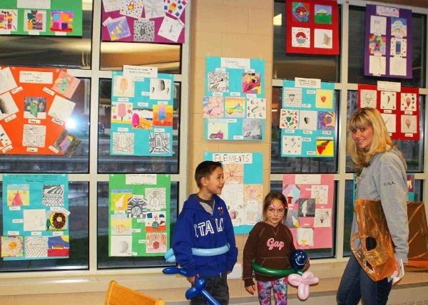 West Long Branch Students Show Off Their Artistic Sides