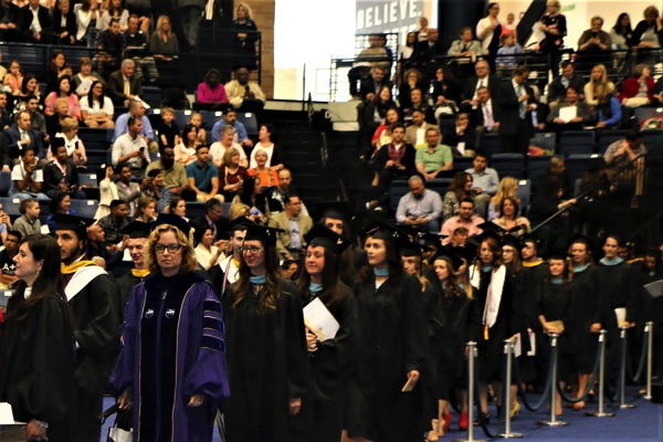 Monmouth University Graduate Commencement Awards 360 Masters