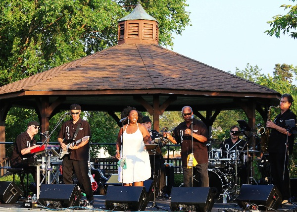 WLB Motor City Revue at Franklin Lake Summer Concerts
