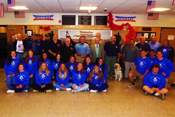 Shore Regional High School Honors Veterans