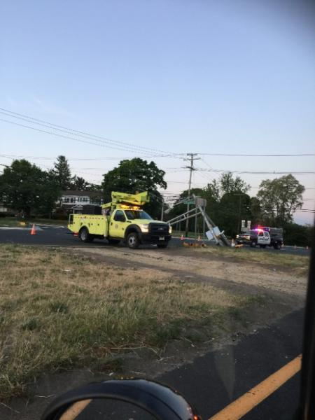 Crash Causing Delays On Route 36 In West Long Branch