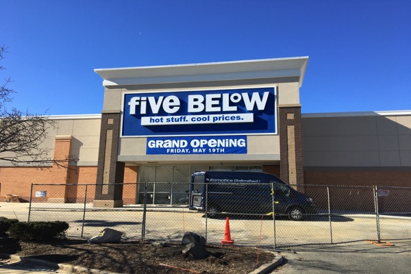 Five Below Making A Move In West Long Branch