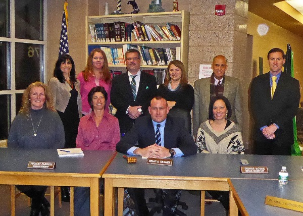 WLB Board of Education Reorganizes, Kramer Named President