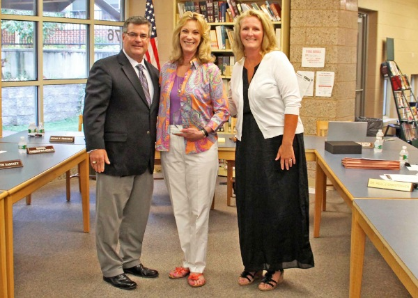 WLB BOE Thanks Mary Orendorff-Gassman for 18 Years of Dedication