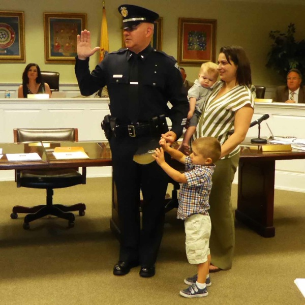 West Long Branch Police Lieutenant Promoted