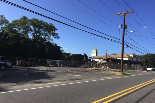 Vacant West Long Branch Bar Demolished