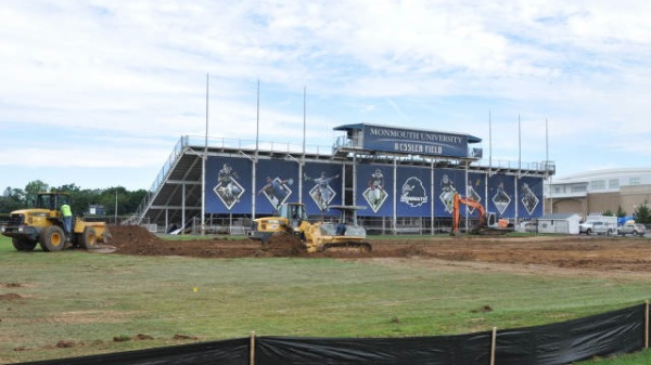 Construction Begins On New Monmouth Stadium