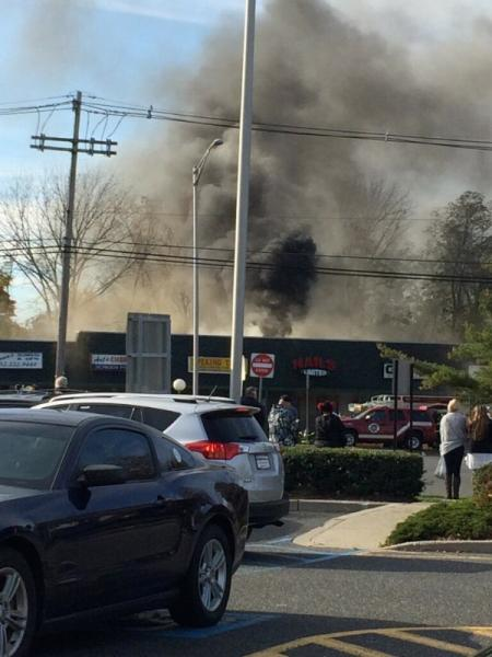 Fire Reported In West Long Branch Shopping Center