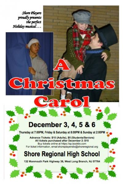 Scrooge On Stage in Shore Players Production Of 'A Christmas Carol'