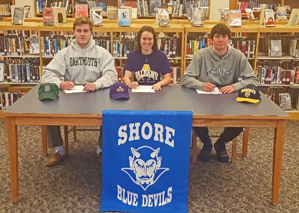 Shore Regional Athletes Announce College Plans