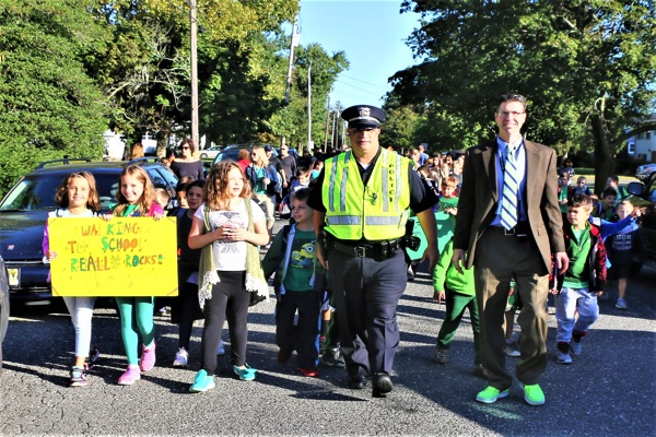 Betty McElmon Elementary Walks To School