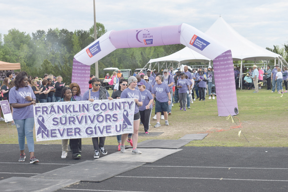 Franklin County Relay for Life ...Walking for a great cause, pics 1