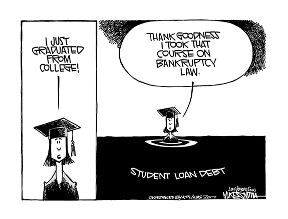 Editorial Cartoon: Student Loan