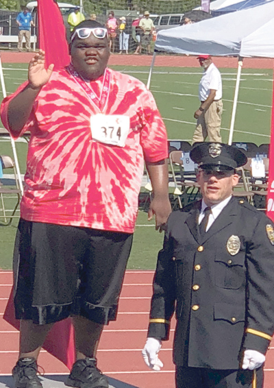 <i>Contingent of Franklin County  Special Olympians earn medals</i>