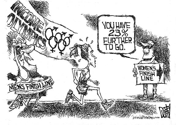 Editorial Cartoon: Women's Progress
