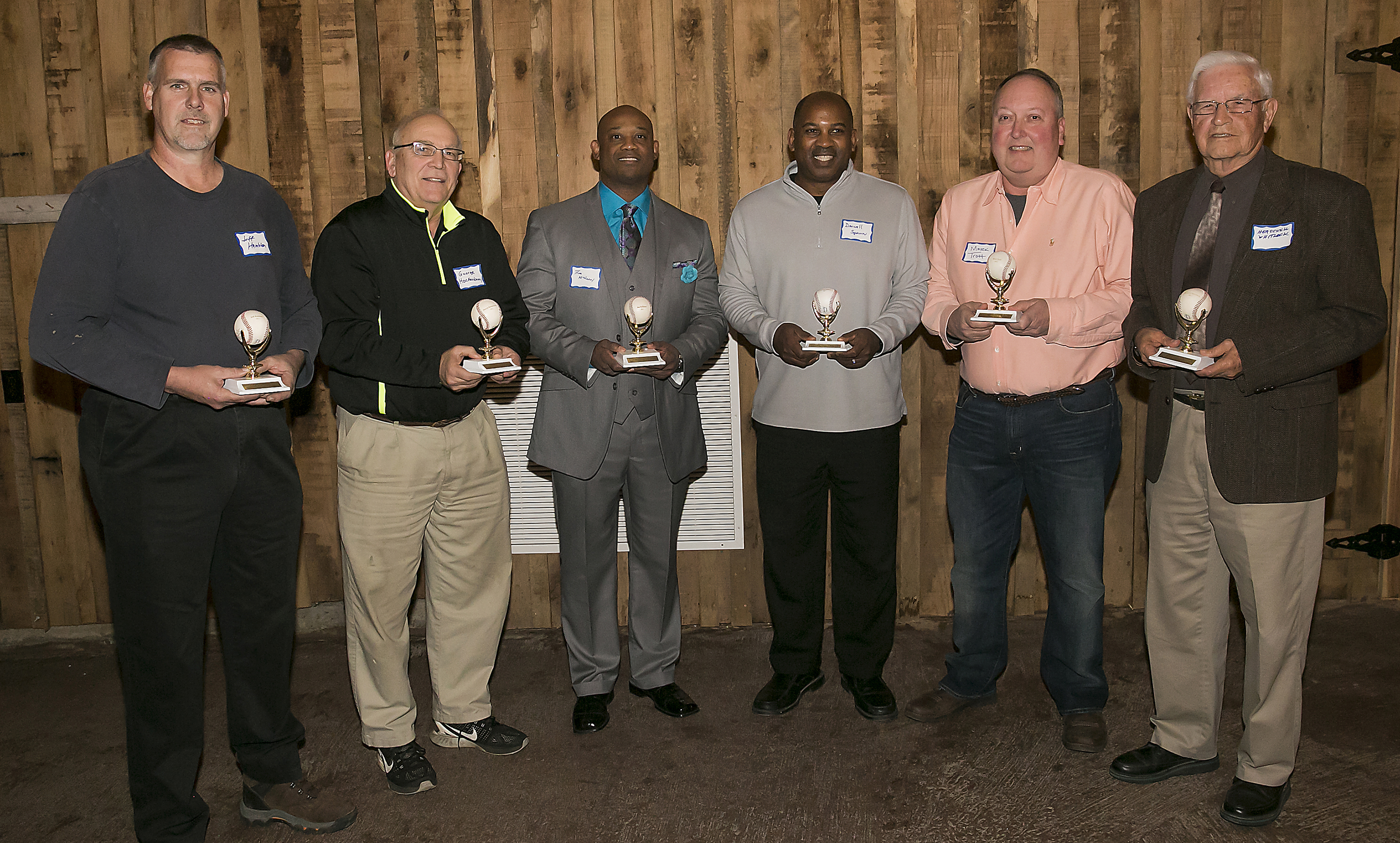 Rutherford County Baseball Association Old Timers Hall of Fame 2017