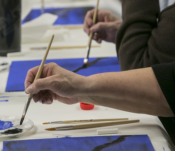 Wildlife Painting Class was fun for all (Photos)
