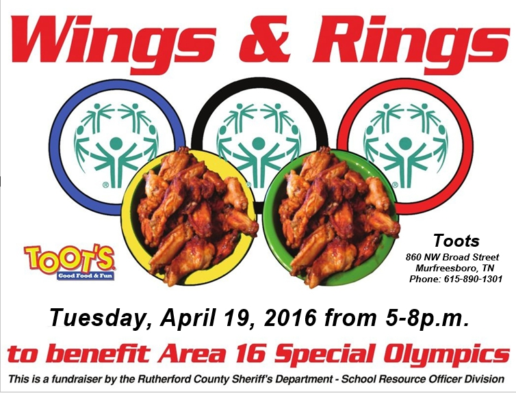 Fundraiser for Special Olympics at Toot's in Murfreesboro