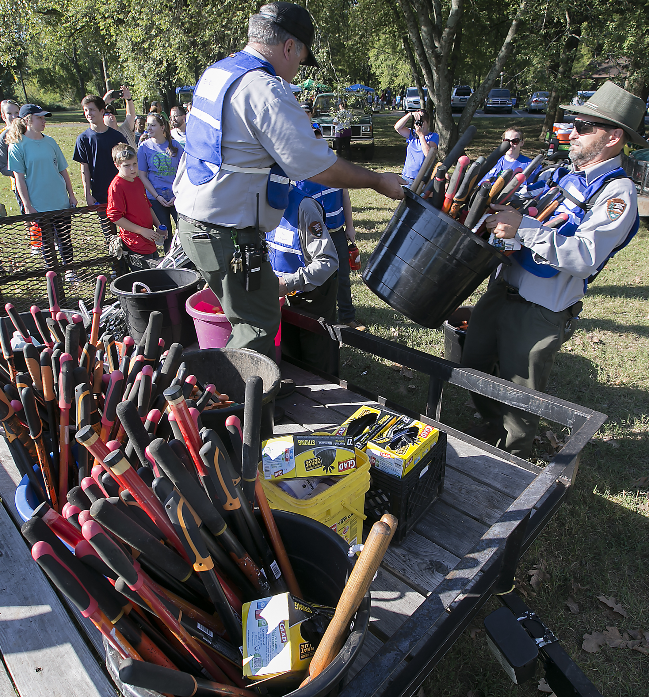 Cranbrook School Shooting Team 1947: Parks Cleaned By Local Volunteers For National Land Day