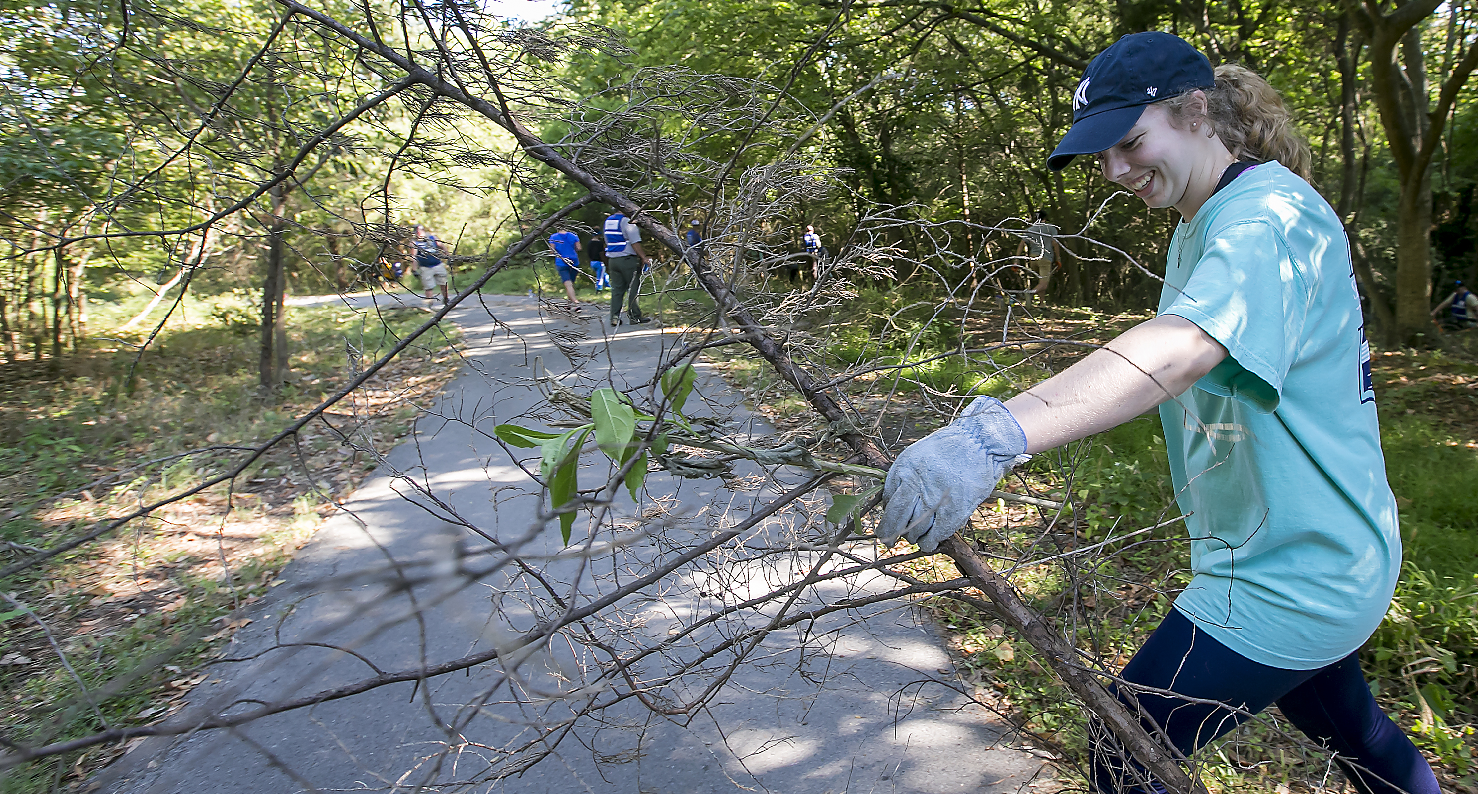 Parks Cleaned by local Volunteers for National Land Day