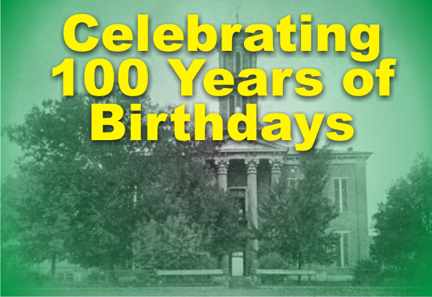 Celebrating the Birthdays of those who are 100+ in Rutherford County