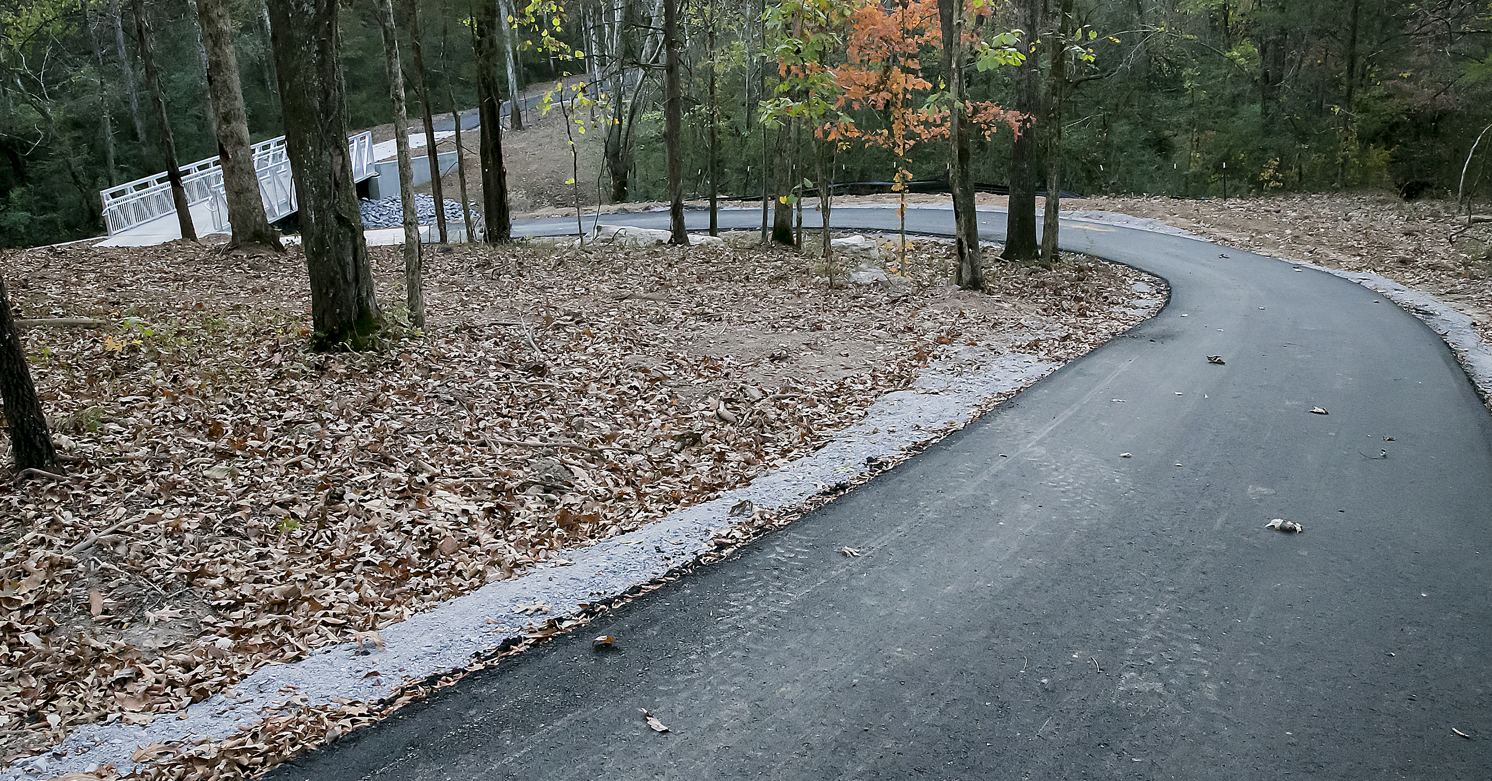 A new section of the Greenway trails in Murfreesboro is now open