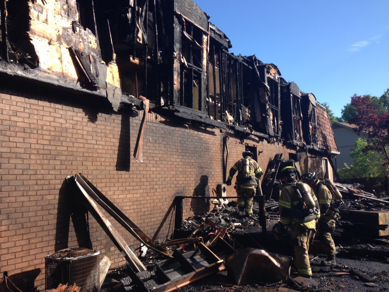 Home on Georgetown Lane likely a total loss due to Thursday fire