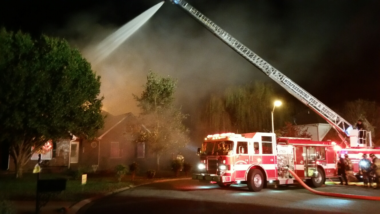 Fire at 1707 Bridget Drive in Murfreesboro was ruled as