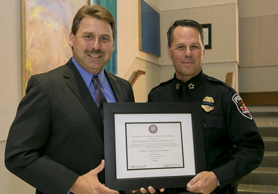 Murfreesboro Police Department receives re-accreditation from TLEA