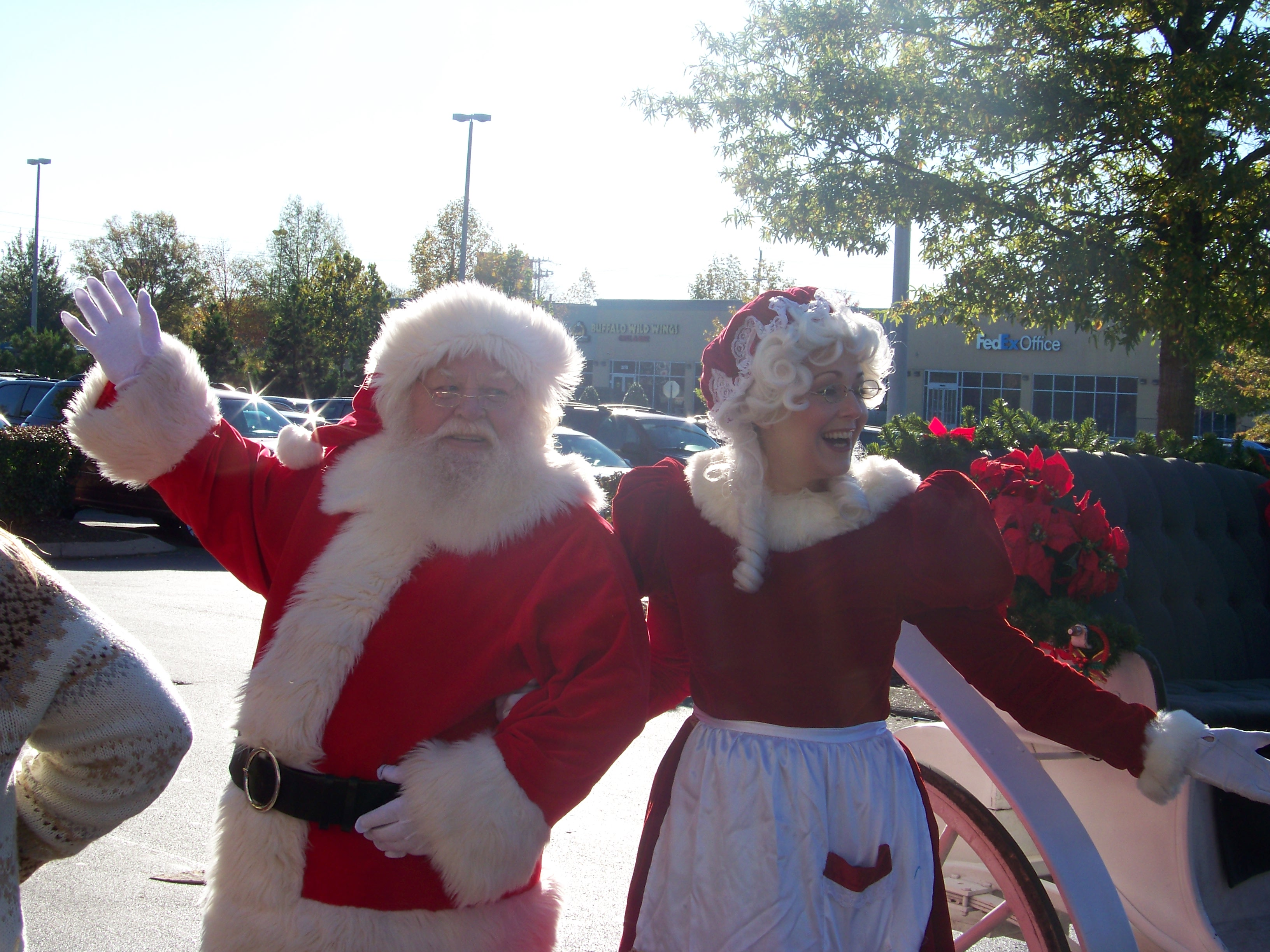 Santa's Arrival and Breakfast is Saturday, Nov. 12