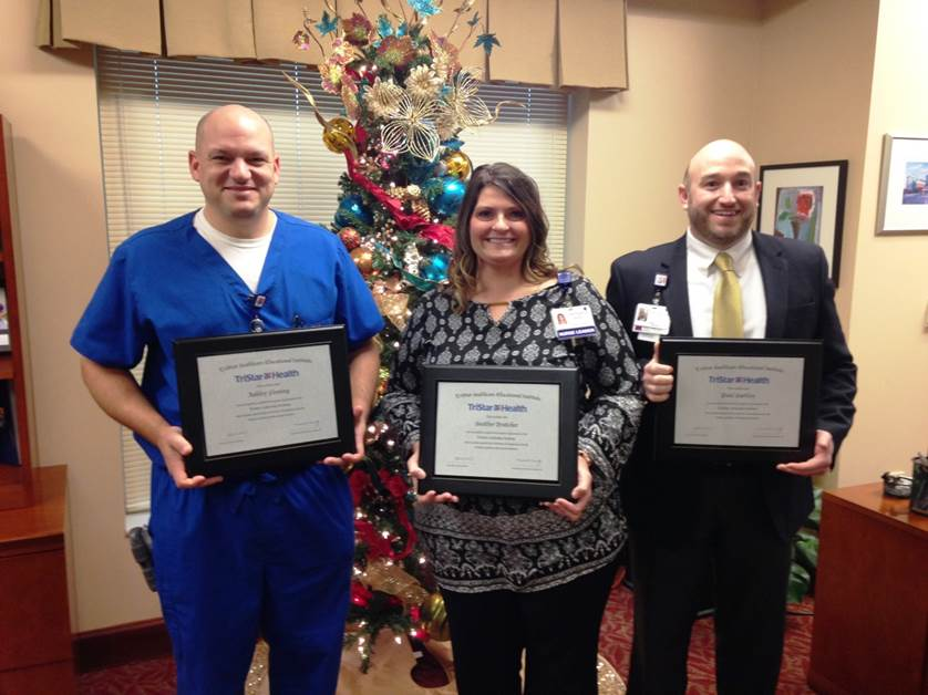 TriStar StoneCrest Employees Earn Certificate in Healthcare Leadership