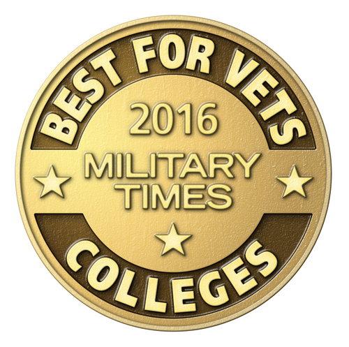 MTSU receives Military Times' 'Best for Vets 2016' recognition
