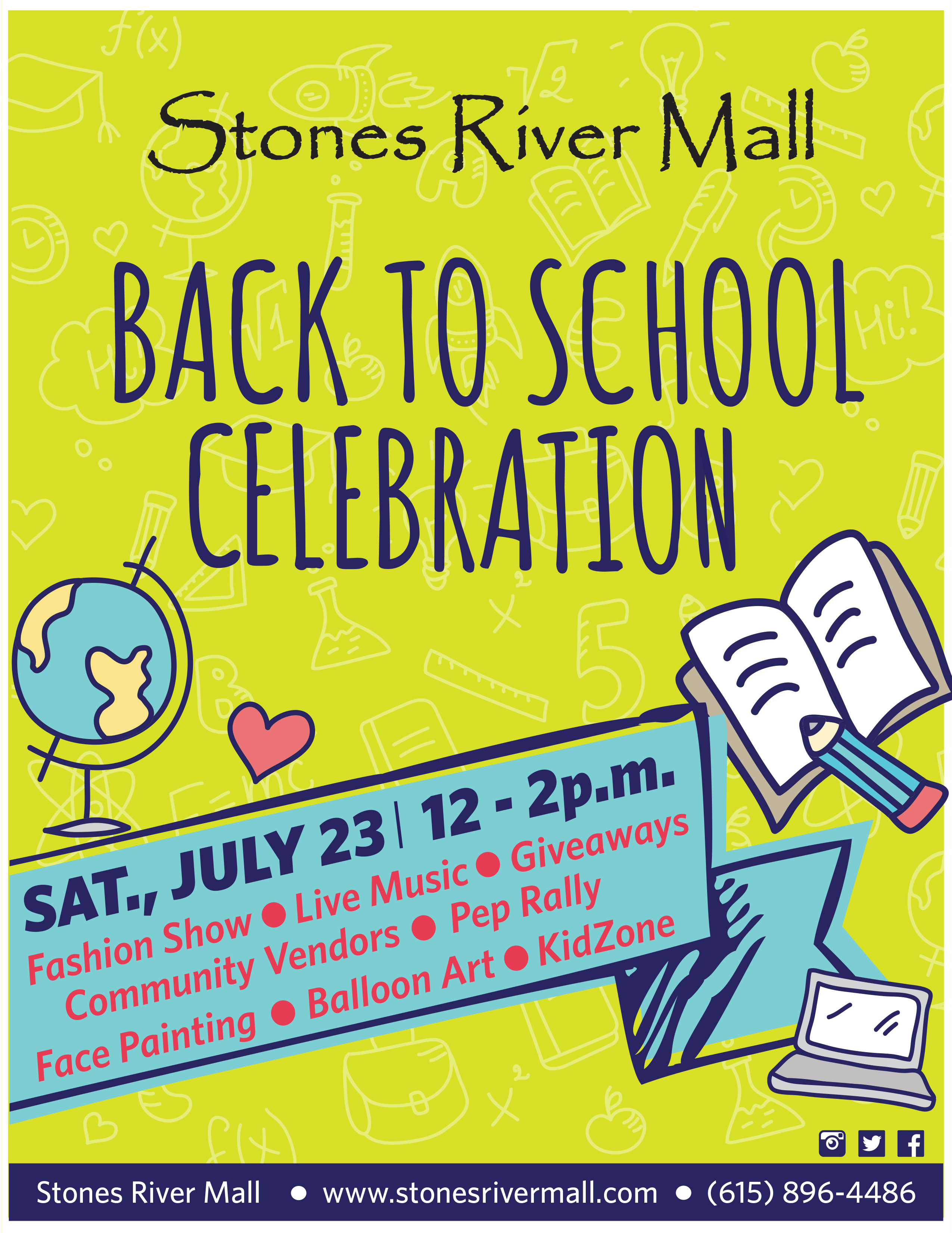 Back to School Event at Stones River Mall