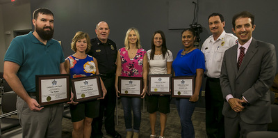 2nd Shift 911 Communication Dispatchers honored with STARS Award