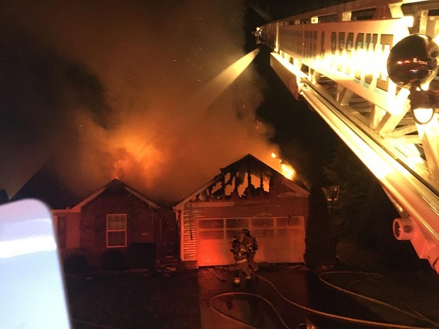 UPDATE: MFRD Battles Houses Fire on Saint Andrews