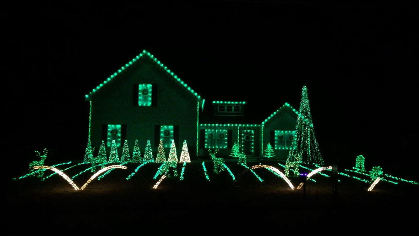 Christmas Lights for the Alzheimer's Association