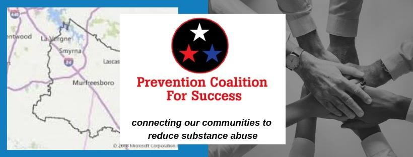 This campaign is designed to encourage local activities to promote education and awareness to end violence towards children.  The mission of Prevention Coalition for Success is to reduce substance abuse and violent crime in Rutherford County.