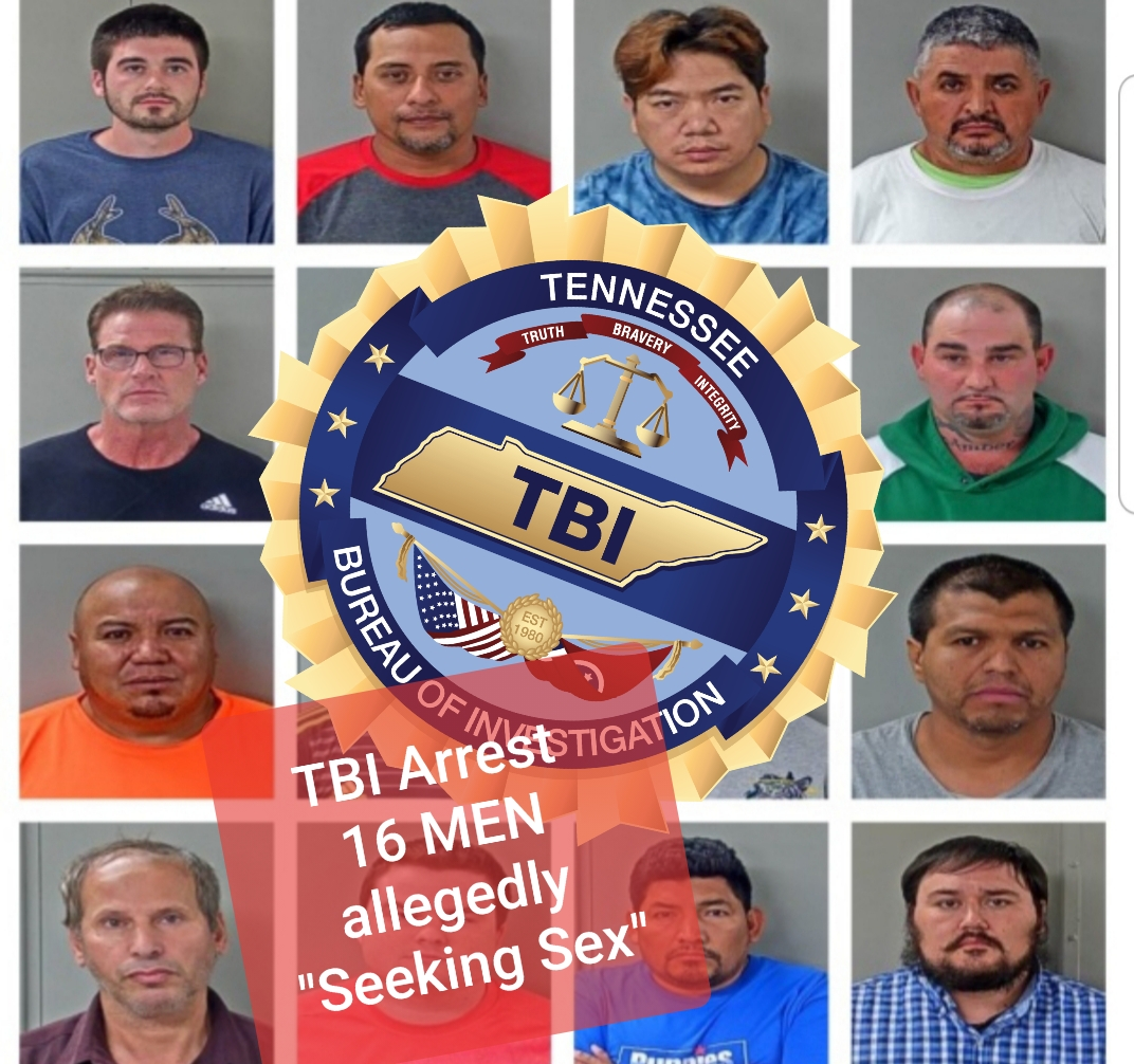 TBI Two-Day Operation Arrests16 Men On
