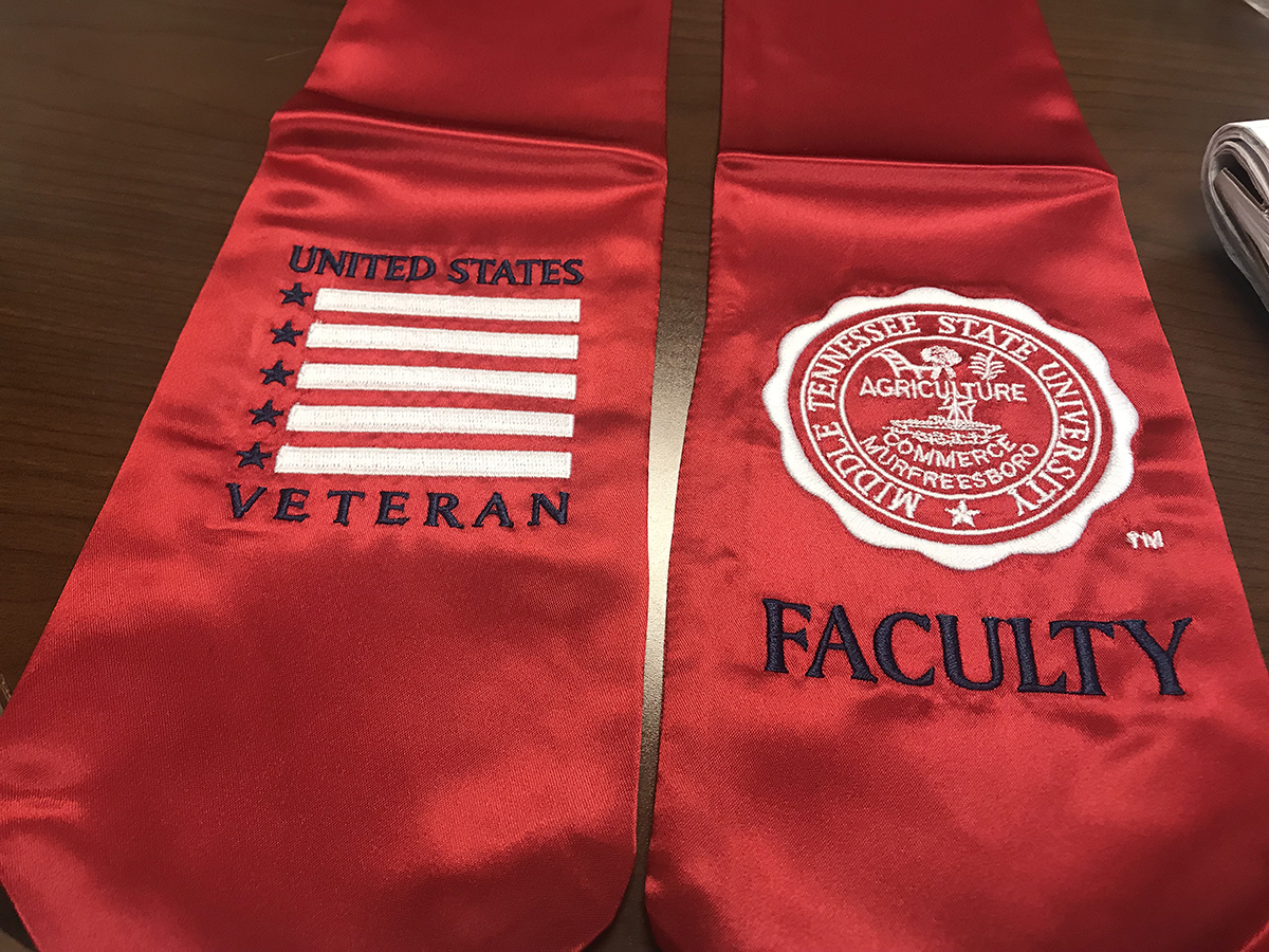 Public welcome to attend first MTSU Faculty/Staff  Stole Ceremony Nov. 15 in Miller Education Center