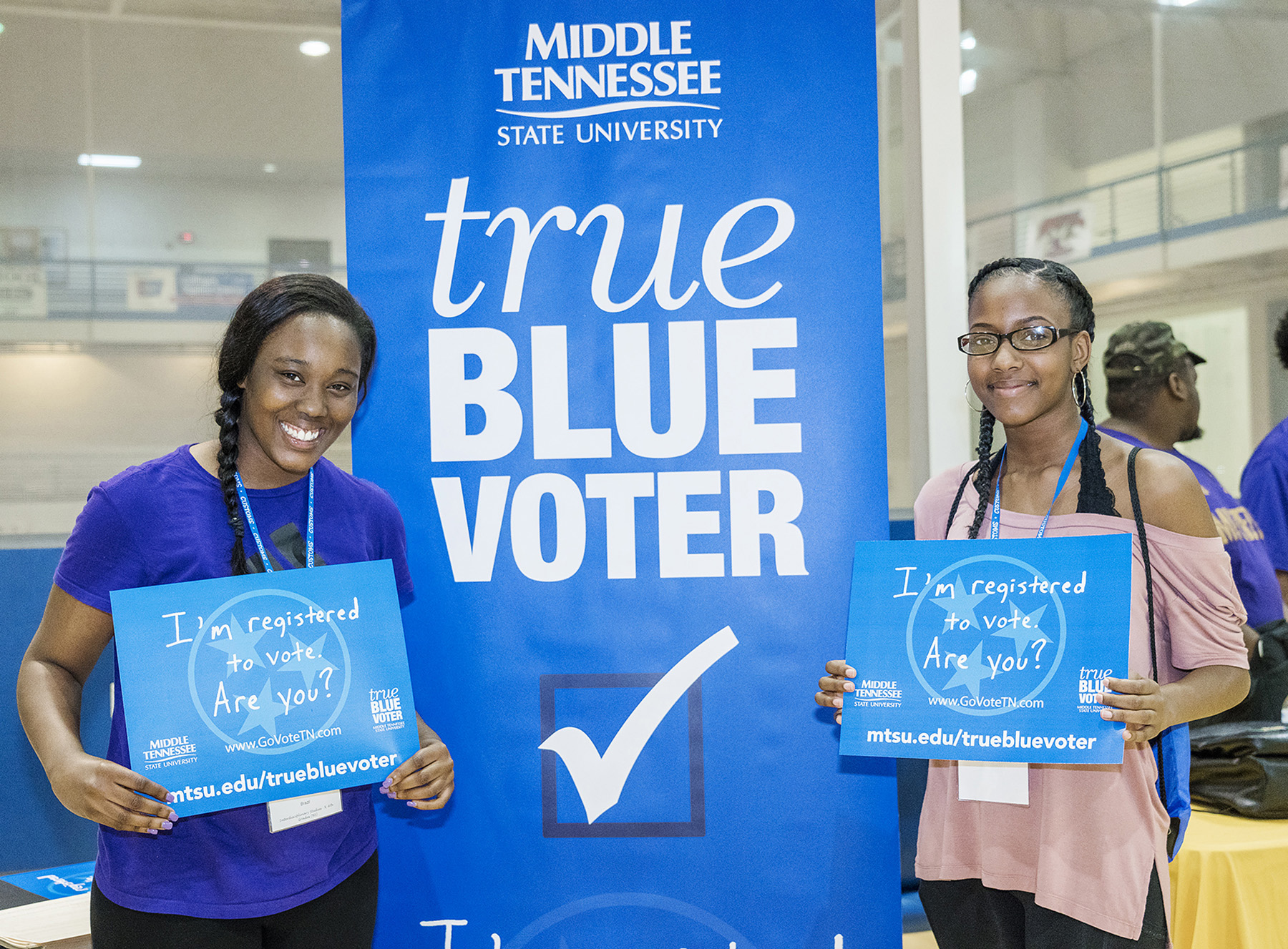 MTSU receives two national recognitions for student voter efforts
