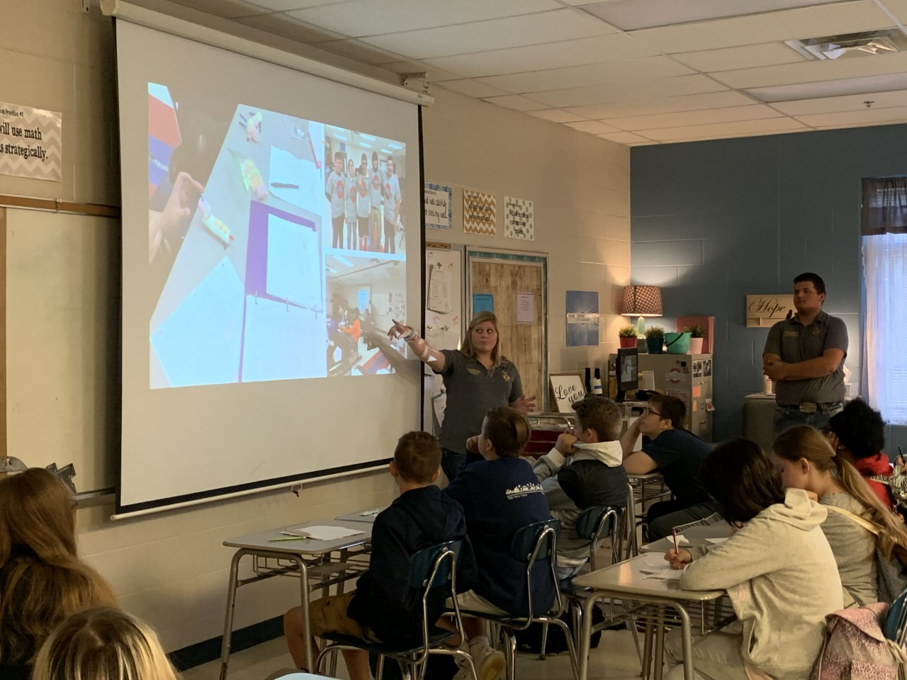 Oakland High School students recently partnered with Rutherford Works, industry professionals and Oakland Middle School to offer a Career Pathway Fair to middle school students.